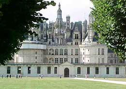 Chambord Castle at Loire in France