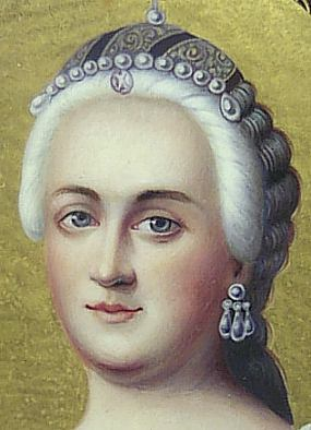 Summary of the life of Catherine the Great, Empress of Russia, and a