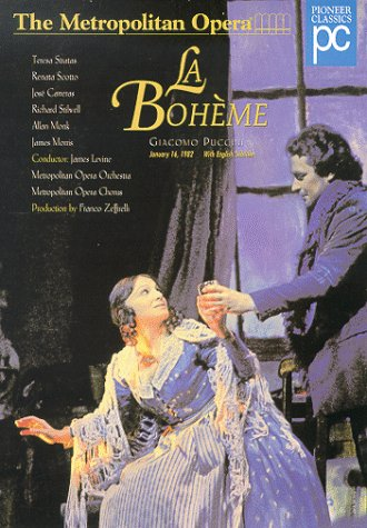 Best Boheme staging by Zeffirelli