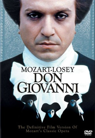 The greatest opera film - Losey's masterpiece Don Giovanni
